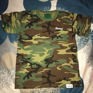 Camouflage teen boys T-shirt